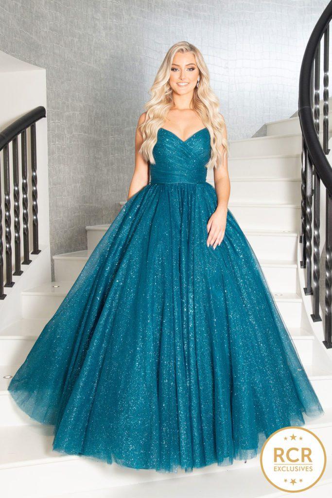 Green Princess Ballgown